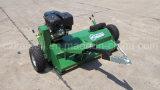 cortacéspedes del mayal de 13HP/15HP ATV con la rueda en el lado y la parte posterior