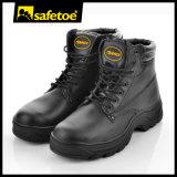 Zapatos de seguridad resistentes calientes con el casquillo y agua de acero M-8022 resistente de la punta