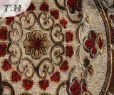 Il tessuto luminoso del sofà di serie del jacquard del Chenille e tessuto della mobilia (FTH31618)