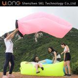 Tissu en nylon et air remplissant Laybag, sac de couchage gonflable