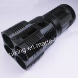Glare Flashlight Components를 위한 알루미늄 CNC Machined Part