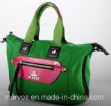 가죽 /Tote 직물 핸드백 (BS11081)를 가진 직물 핸드백