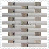 mosaico di marmo 3D per le mattonelle della parete