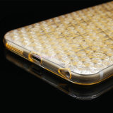 iPhone 5/6/6plusのための熱いSelling Fashion Flower TPU CellかMobile Phone Case