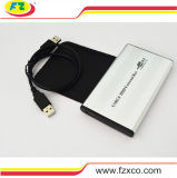 USB2.0 2.5 ao cerco da movimentação dura do IDE HDD da polegada