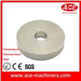 Часть точности туза подвергая механической обработке для алюминия