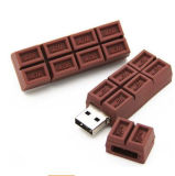 Mercado da movimentação eletrônica do flash do USB da forma do chocolate