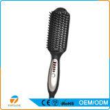 Labra la herramienta eléctrica peine del pelo de la enderezadora de cerámica del pelo del cepillo eléctrico del peine del pelo