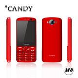 téléphone mobile fondamental de téléphone de caractéristique de 2.8inch GM/M