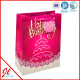 2016 Paper revestido Large Paper Gift Bags para Birthday Party