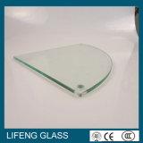 ドリル孔が付いている明確な緩和されたガラス