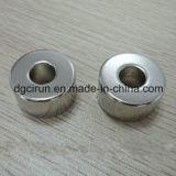 Магнит диктора кольца изготовленный на заказ неодимия N38 постоянный