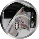 Contador Desktop do vácuo do dinheiro da vasilha de lavar metais com Ce