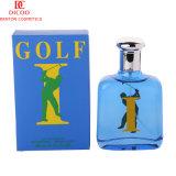 Perfume simple y abundante barato al por mayor, perfume fresco del golf de la botella de cristal