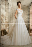 Le chapeau de Mori Lee Morilee gaine la robe de mariage fabuleuse arrière de longueur d'étage de lacet de V (Dream-100072)