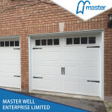 CE Approved Garage Doors Panels Prices di Design East Lift Automatic Sectional Galvanized Steel di modo con Pedestrian Doors