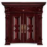 Porta do metal da porta do aço frio de porta de entrada (FD-8820)