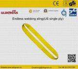 ASME B30.9 мы 4 подъемного стропа Webbing Ply (TS-W09-03)