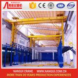 0.5+0.5 Aluminum Anodizing Plant를 위한 Crane를 타자를 치십시오