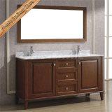 Vaidade do banheiro da madeira contínua da alta qualidade Fed-1807, armário de banheiro
