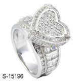 Anillo de plata de la joyería 925 al por mayor de la manera de la fábrica
