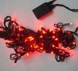 Luzes de Natal Multicolor do diodo emissor de luz com a bateria para a decoração do feriado
