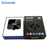 Mais recente Zoomtak K8 Xbmc / Kodi Android Smart TV Box com Quad Core Amlogic S802 Suporte 3D 4k