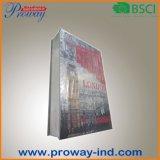 Caja fuerte del libro con la cubierta del papel revestido (B-S19-FCB)