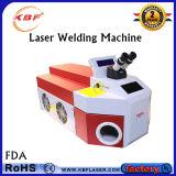 100W de Machine van het Lassen van de Vlek van de Laser van de Juwelen van de lijst voor het Gouden Zilveren Aluminium van het Koper