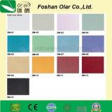 Tarjeta decorativa del cemento de la fibra del Puro-Color