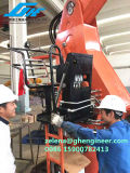 Палубный судовой кран жесткого заграждения гидровлический морской