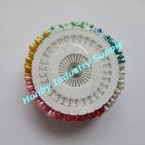 車輪(P160322B)の着色されたプラスチック涙の形の真珠ヘッドコサージュピン