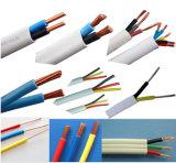Fil isolé par PVC en aluminium de conducteur de fil en aluminium solide de faisceau