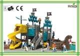 Напольная Спортивная площадка-Высокая спортивная площадка корабля пирата качества LLDPE пластичная напольная группы Kaiqi для парка атракционов, общины, Seabeach