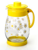 Flower Decalの安いPrice Glass Pitcher Water Jug