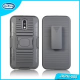 Hybrid TPU PC Rubber Cell Phone Case Covers PARA Celulares for Motorola G4