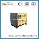 Jogo de gerador silencioso Diesel do motor 5kVA da potência pequena