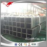 Quadrato nero materiale di Q235 Constrction e tubo d'acciaio vuoto rettangolare