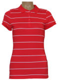 Yarn Dye Stripe Polo de Madame