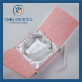 Caixa de jóia redonda do bracelete e da pulseira (CMG-JPB-009)