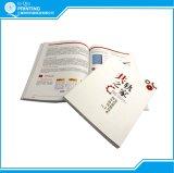 Servicio de impresión a todo color del libro de la puntada de silla de montar