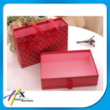 Guangzhou arropa el rectángulo de regalo del almacenaje del papel de la cartulina del embalaje
