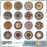 Het marmeren Medaillon van het Mozaïek van de Steen van de Vloer voor de Decoratie van de Vloer in Zwarte/Rode/Beige/Witte/Bruine Kleur