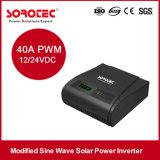 inversor modificado 1kVA da onda de seno, inversor solar da fora-Grade com o controlador 40A solar
