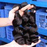 Человеческие волосы весны бразильских оживлённых человеческих волос скручиваемости сотка курчавые