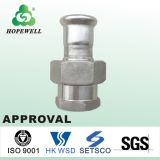 Top Quality Inox Plumbing Sanitary Stainless Steel 304 316 Press Fitting pour remplacer Straight Union