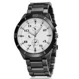 Mensen Al Zwarte Gift van de Diamant met de Waterdichte Horloges van de Vrije tijd van Sporten