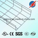 Bandeja de cable de acero galvanizada del acoplamiento de la altura 30~200 laterales