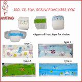 Vente en gros ensoleillée somnolente vendable populaire de la Chine de couche-culotte de bébé de 4 saisons