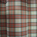 Il filato tessuto 100% del popeline di cotone ha tinto il tessuto per le camice/vestito Rlsc40-9